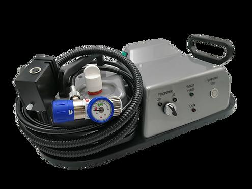 Der Oxy3-Car überzeugt mit seinen vollautomatischen Prozesse und der einfachen Bedienung.