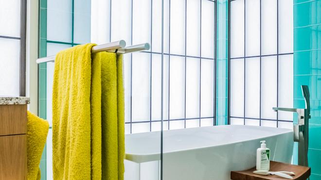 Master bath wet area