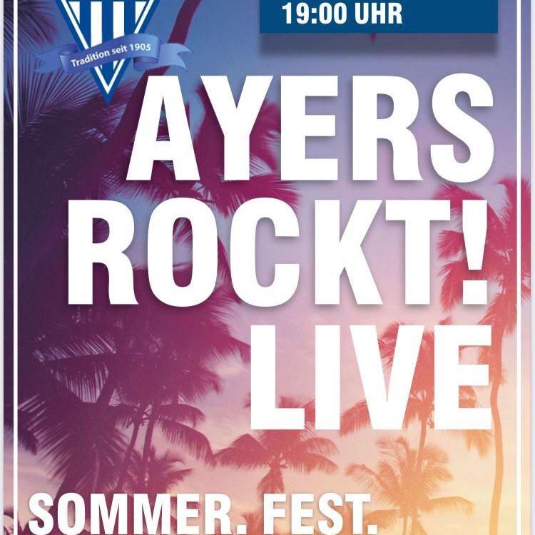 Ayers Rockt das Sommerfest beim TuS!