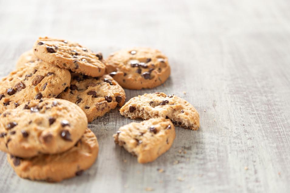 homemade chocolate cookie