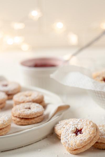 christmas cookies food photography
