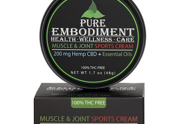 Pure Embodiment - 200mg CBD Muscle & Joint Sports Cream 1.7oz