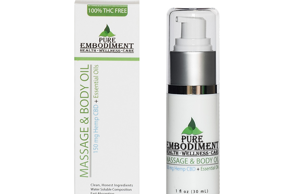 Pure Embodiment - 150mg CBD Massage & Body Oil