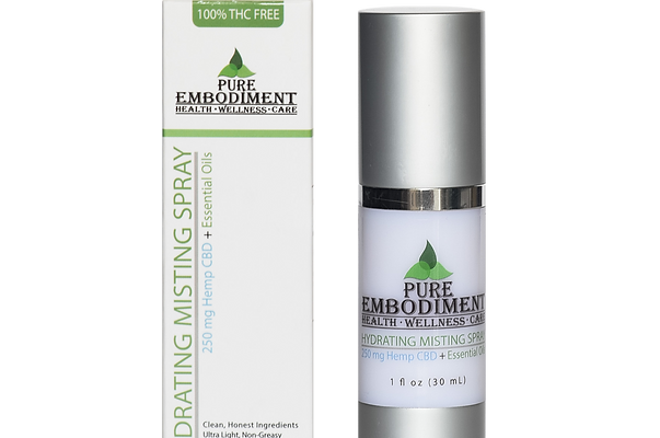 Pure Embodiment - 250mg CBD Hydrating Misting Spray