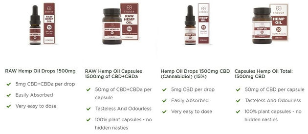 Endoca | CBD Company | NC 28078 | Natural Earth CBD Co