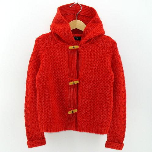 Kids' Cashmere Hoody Cardigan (Style #12058)