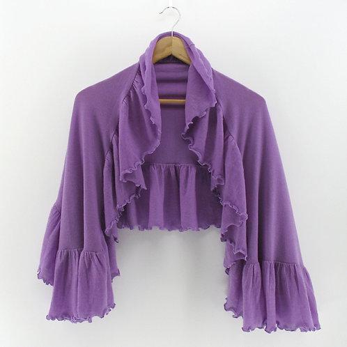 Cashmere Long Ruffle Shawl (Style #05976)