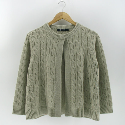 Ladies' Short Cable Cardigan (Style #12955)