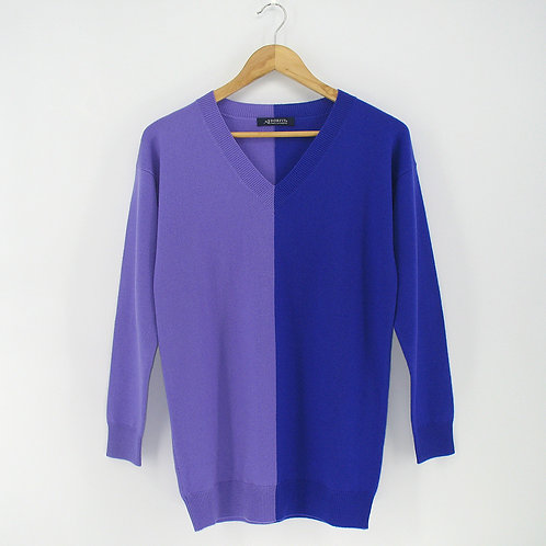 Ladies' Cashmere Long Pullover (Style #11903)
