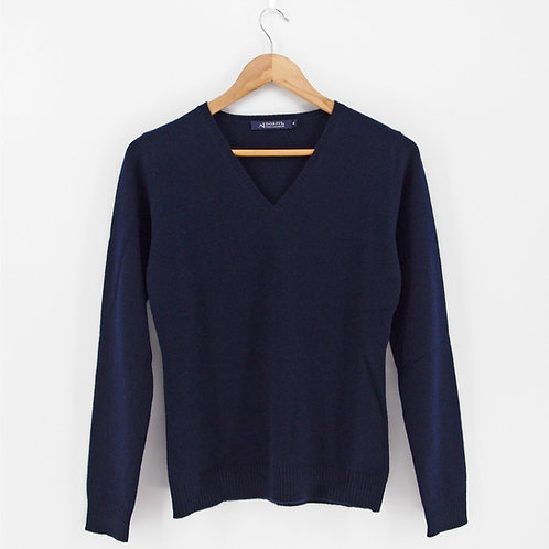 Ladies' Cashmere V-Neck Pullover (Style #12531)