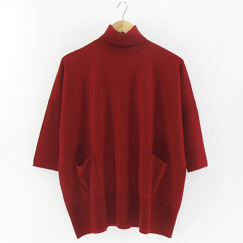 Ladies' Cashmere Poncho Tunic (Style #10334)