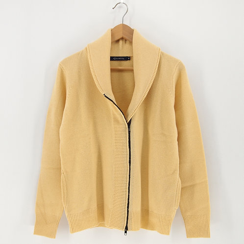 Ladies' M.Wool/ Cashmere Cardigan (Style #12525)