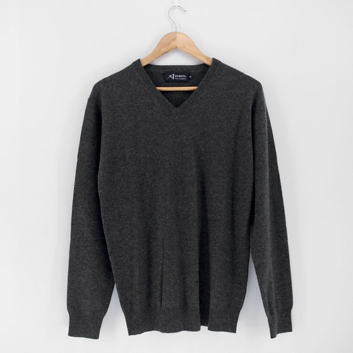 Mens' Cashmere V-Neck Pullover (Style #09388)