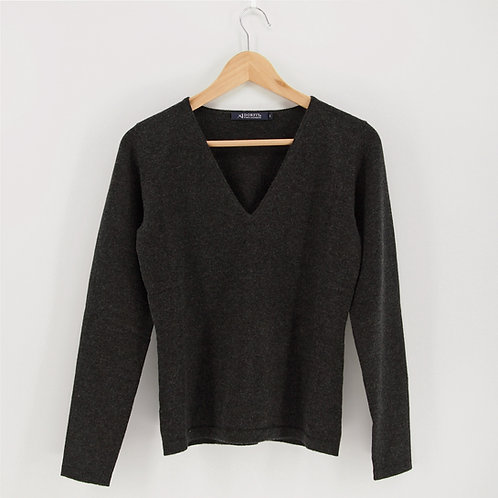 Ladies' Cashmere V-Neck Pullover (Style #12817)