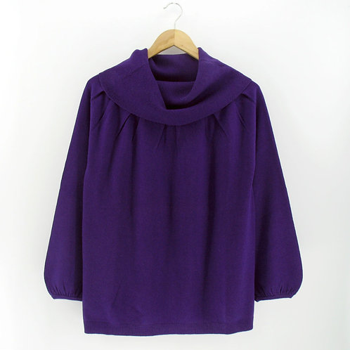 Ladies' Cashmere-Silk Big Turtle Pullover (Style #12265)
