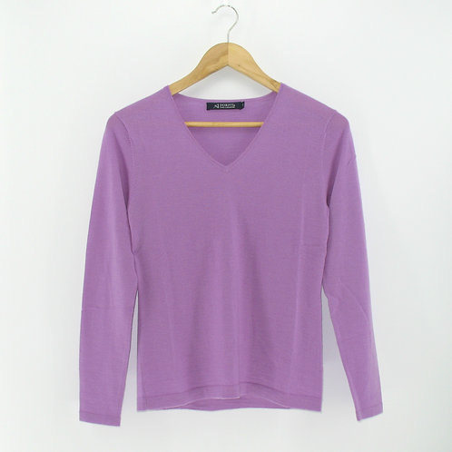Ladies' Cashmere V Neck Sweater (Style# 10266)