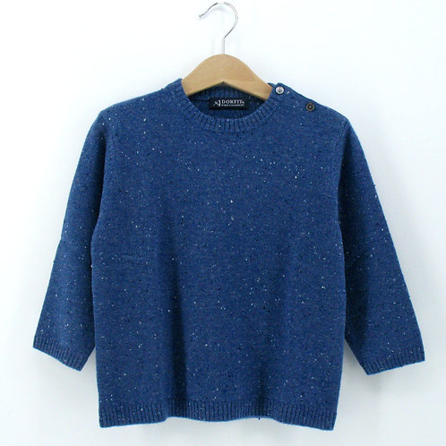 Babies and Kids' Cashmere Shoudler button Pullover (Style #12885)
