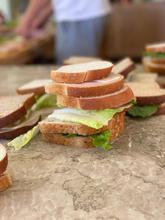 Sandwich - but up close