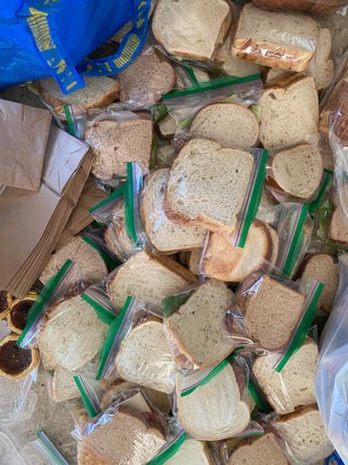 First Sandwich Drop