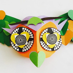 New paper project - a flying owl ⭐