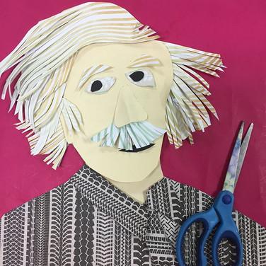 היתה סדנה מהממת הערב במסטיקים! אחת העבודות האהובות עליי היא הפורטרט של אינשטיין מעשה ידיה של רחל ארליך ♥️ המקסימה.jpg
