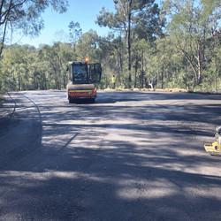 Recycled Ashphalt Carpark - Billabong Retreat