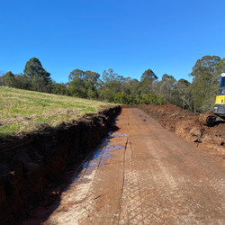 Grose_Vale_Excavations_Access Rd