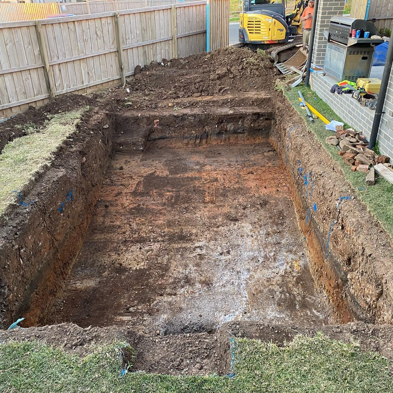 Kellyville Pool Excavation