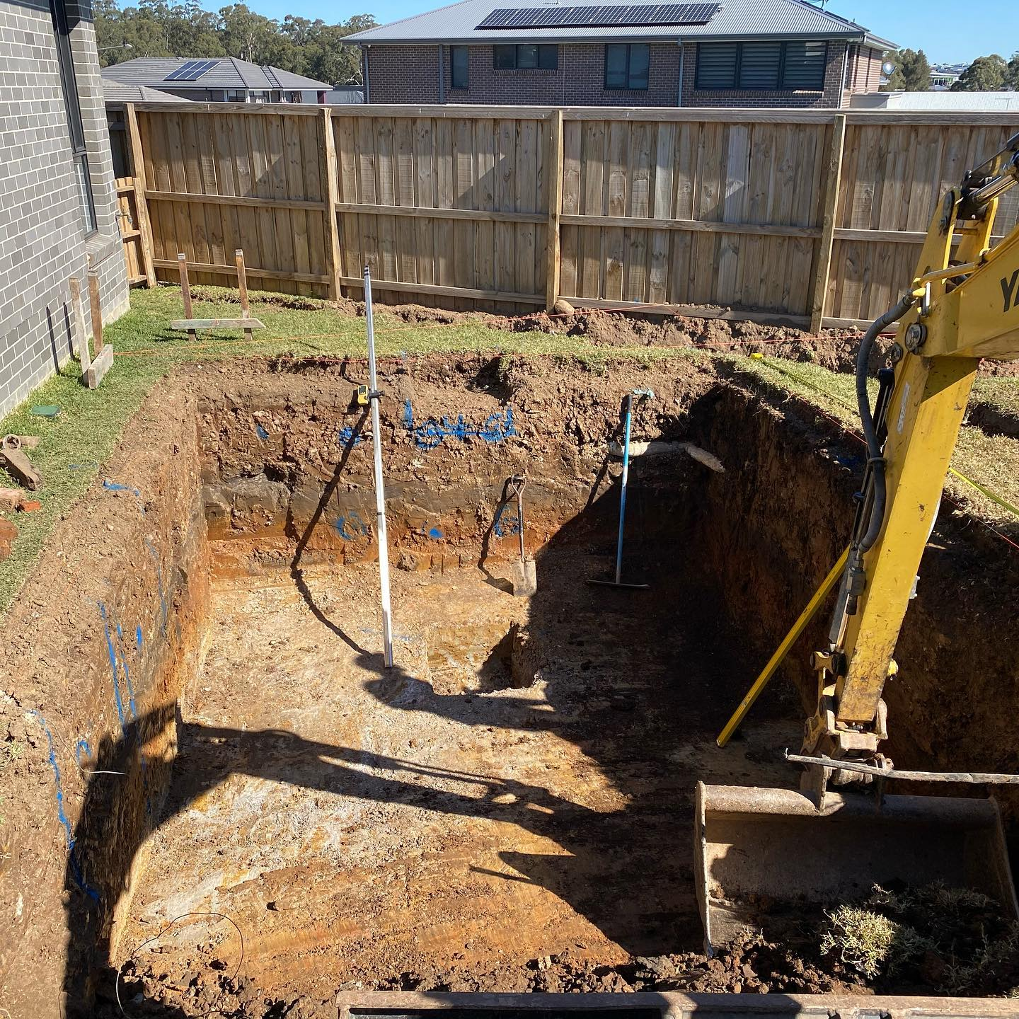Kellyville Pool Excavation_progress