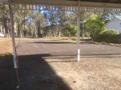 Recycled Asphalt Driveway on Acerage