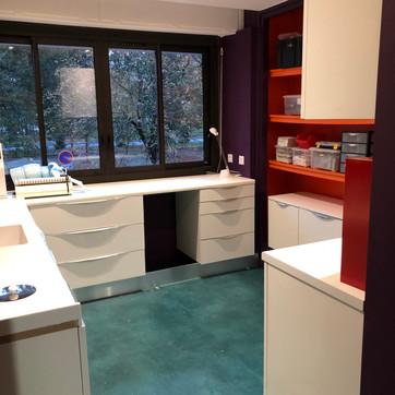 Rénovation d'un cabinet dentaire