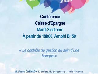 Conférence du 03/10/2017 avec la Caisse d'Epargne