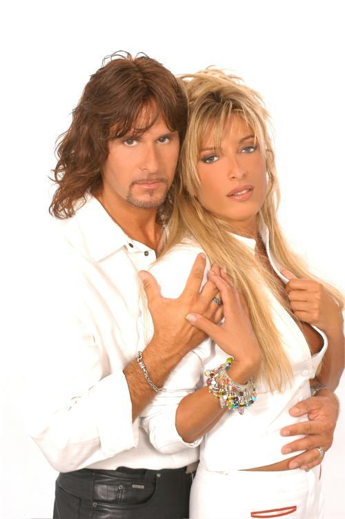 Steve Lee und Brigitte Balzarini
