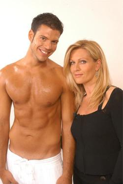 Patricia Boser & Model Giorgio
