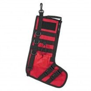 VISM® by NcSTAR® TACTICAL HOLIDAY STOCKINGS - RED WITH BLACK TRIM