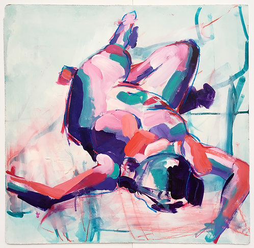 Reclining by Josephine Clouting