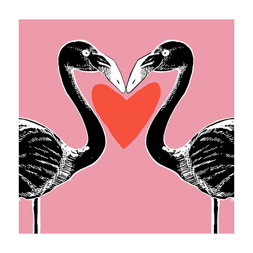 The Black Flamingo - Heart by Ben Connors