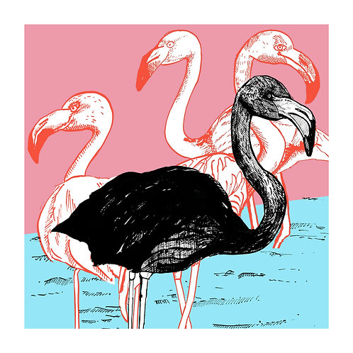 The Black Flamingo by Ben Connors