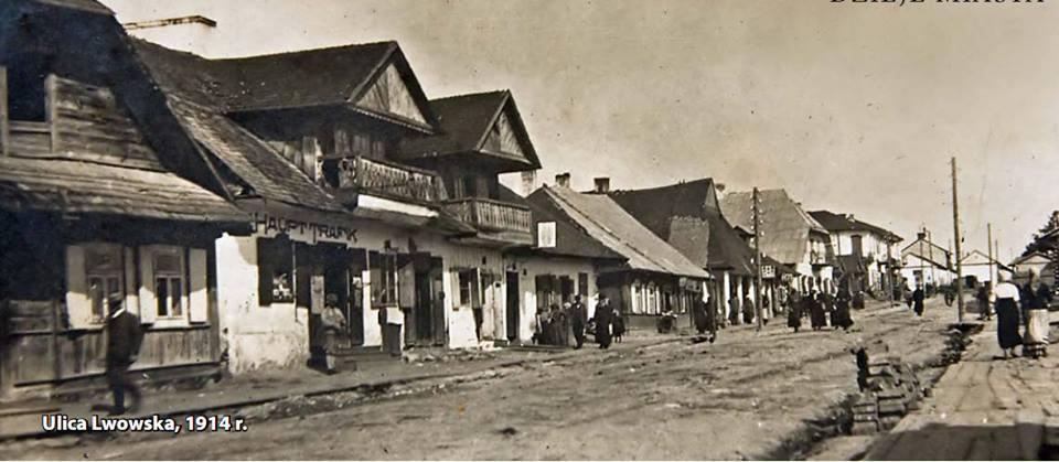 Tomaszów Lubelski Ulica Lwowska