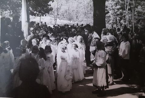 018 Pierwsza komunia, lata 60-te. Foto L