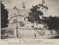 Żółkiew, kościół Dominikanów