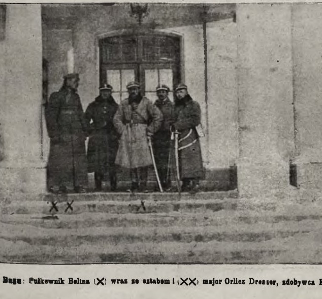 Zdobywcy Krystynopola w 1919.