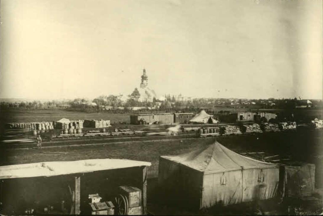 Stacja kolejowa 1915