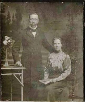 028 August Till i jego żona Agata z domu