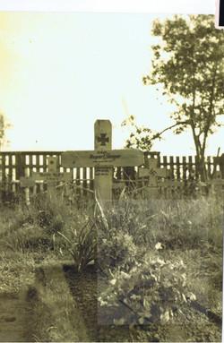 Potylicz 1944 grób Ruberta Steinera ur. 25.01.1922- zm. 28.04.1944