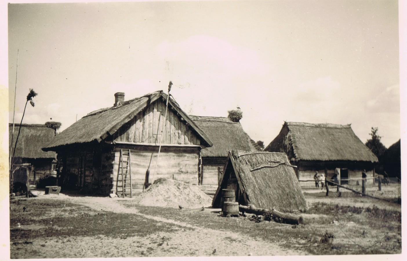 Okolice Rawy czerwiec-lipiec 1941.