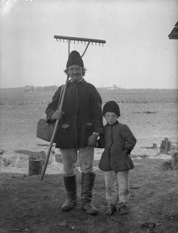 Galizien, Bauer mit Sohn aus Sokal