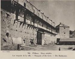 Żółkiew, mury miejskie
