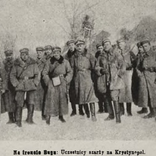 Uczestnicy wlak o Krystynopol 1919