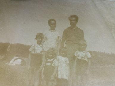 Rodzina Aleksandry Sztabkowskiej z domu